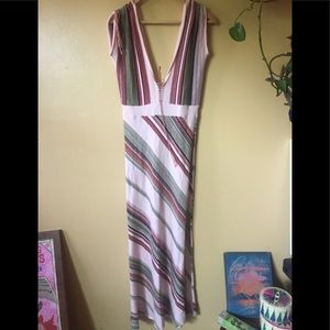 Knit Maxi Dress Uirika Remark pink woven sexy M/L